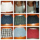 POLO RALPH LAUREN BOXERS WOVEN MEN'S UNDERWEAR S,M,L,XL ONE PIECE!!!