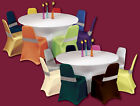 Many Colours SPANDEX CHAIR COVERS UNIVERSAL Wedding Party PREMIUM QUALITY