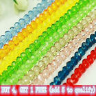 Wholesale New Colorful 3X4mm Swarovski Crystal 150PCS Loose Beads