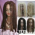 Dreadlock African Full Wig Long Wavy Curly Rolls Costume Hair Heat Resistant Wig