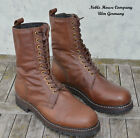 Paratrooper Leather boots Monte Cassino Type 2 sewn-welted brown steer hide