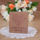Kraft Paper Folding Greeting Cards Beautiful Cards Korean Stationery Gift Card