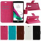 Magnetic Flip Cover Leather Wallet Card Slot Stand Case Fr LG G4 Beat (G4s H735)