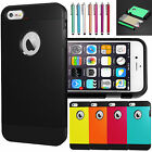 "Hybrid Shockproof Hard&Soft Rubber Rugged Cover Case For iPhone 6 6s 4.7"" 5.5"