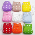 Kyпить New 10pcs+10 INSERTS Adjustable Reusable Lot Baby Washable Cloth Diaper Nappies на еВаy.соm
