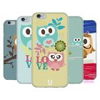 HEAD CASE KAWAII OWL SOFT GEL CASE FOR APPLE iPHONE 6S
