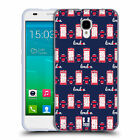 HEAD CASE LONDON PRINTS SOFT GEL CASE FOR ALCATEL ONETOUCH IDOL 2 S