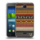 HEAD CASE KNITTED CHRISTMAS SOFT GEL CASE FOR HUAWEI Y541
