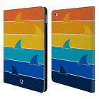 HEAD CASE DESIGNS SHARK PRINTS LEATHER BOOK WALLET CASE COVER FOR APPLE iPAD
