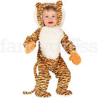 Toddler Halloween Cuddly Cute Tiger Baby Fancy Dress Costume Animal Jungle NEW