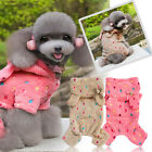 Small Pet Dog Pajamas Coat Cat Puppy Cozy Clothes Apparel Clothing Shirt Costume