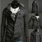 Stylish Mens Winter Warm Casual Jackets Coat Hooded Sweatshirts Overcoat Tops
