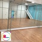 4mm Glass Gym / Dance Mirror Sheet With Polished Edges (Smooth Edges)