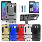 Shockproof Armor TPU Hard Case Stand Cover+Pen+Film for Samsung Galaxy Note 5