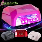 36W LED+CCFL Nail Dryer Powerful Curing Lamp Machine for UV Gel Nail Care Polish