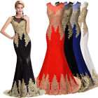 VINTAGE SEXY Long Evening Formal Bridesmaid Wedding Cocktail Prom Party Dresses