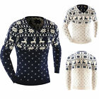 Fashion Mens Casual Long Sleeve Slim Fit Animal Print Dress Jumper Tops Cardigan