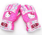 [Hello Kitty] Kid Girl Mint Dot Five Finger Ski Winter Gloves 862773