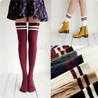 Women Girls Knit Cotton Over Knee Thigh Stockings High Socks Pantyhose Tights