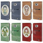 HEAD CASE DESIGNS CHRISTMAS ANGELS LEATHER BOOK WALLET CASE FOR SAMSUNG PHONES 2
