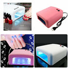 Babz 36W Professional UV Shellac Gel Nail Lamp Dryer with 120 + 180 Second Timer