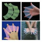 S/M/L Soft Silicone Swimming Gear Fins Frog Hand Webbed Flippers Training Gloves