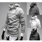WINTER Warm Men's Zip Design Slim Coat Jacket Hoodie Casual Outerwear Sweatshirt