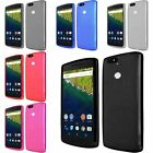 Frosted Rubber TPU Gel Soft Skin Cover Case For Huawei Google Nexus 6P