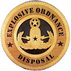 Explosive Ordnance Disposal Wall Tribute, Explosive Ordnance Disposal Hand Made