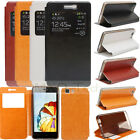 View Window Flip Leather Soft TPU Gel Case Cover Stand For DOOGEE X5/X5 Pro 5.0""