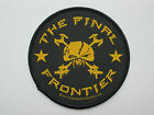 IRON MAIDEN -THE FINAL FRONTIER- SEW ON PATCH