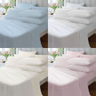 Catherine Lansfield Home Plain Dyed 100% Cotton Housewife Pillow Cases, Pair
