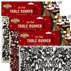 2M FOIL TABLE TOP RUNNER PARTY XMAS CHRISTMAS FESTIVE DECORATION TABLEWARE PROP
