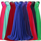 UK Stock Size 6-18+Womens Formal Evening Ball gown Party Prom Long WEDDING Dress