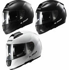 LS2 FF397 VECTOR SOLID FIBREGLASS FULL FACE MOTORCYCLE HELMET DUAL VISOR