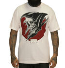 SULLEN REAP DEATH REAPER SKULL TATTOO MENS WHITE T SHIRT S-3XL BIKER GOTH PUNK