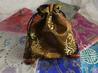One Asian Brocade Drawstring Pouch Bag Jewellery Gifts Storage Travel Make-up