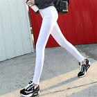 Women Fashion Sexy Slim Fit Long High Waist Cotton Stretch Skinny Pencil Pants