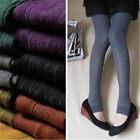 Women Fashion Casual Sexy Slim Winter Warm Knitted Stirrup Long Elastic Leggings