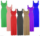 Women's Ladies Girls Diamante Long Evening Maxi Party Dress Plus Size Xmas Party
