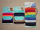 GOODY OR SCUNCI PONYTAIL HOLDERS BRIGHTS, NEUTRALS BRAND NEW *CHOOSE COLOR*