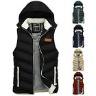 Winter Men's WARMER Padded Vest Casual Hooded Bodywarmer Gilet INNER Coat Jacket