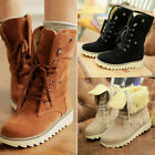 Fashion Women boots comfort shoes flats round toes Ankle Winter Warm boots #QWE
