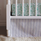 OM Home Striped Crib Skirt