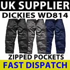 Dickies Action Work Wear Cargo Combat Trousers Pants Mens Safety Trousers