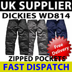 Dickies Action Work Wear Cargo Combat Trousers Pants Mens Safety Fishing Trouser
