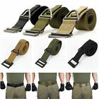 Fashion Men Survival Emergency Tactical Rescue Rigger Militaria Military Belts