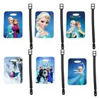 New Personalised Frozen Anna Elsa Durable Secure Travel Suitcase ID Luggage Tags