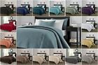 Chezmoi Collection Austin 3-piece Oversized Bedspread Coverlet Set (15 Colors)