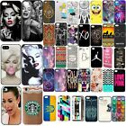 Fashion Cute Design Pattern Hard Back Case Skin Cover For iPhone 5C 5 5S 4 4S